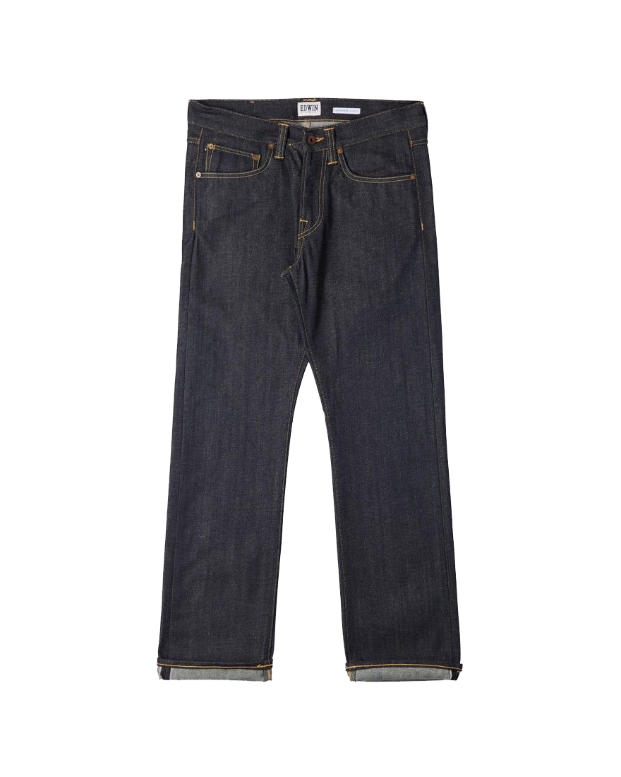 Nashville Straight Red Listed Selvage Denim Blue Unwashed