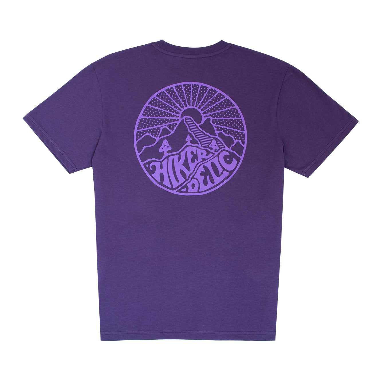 Hikerdelic Core Short Sleeve Purple Tee