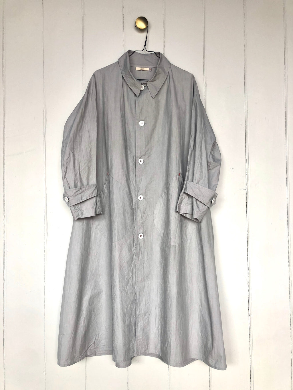 Sula - Palace Coat - grey cotton