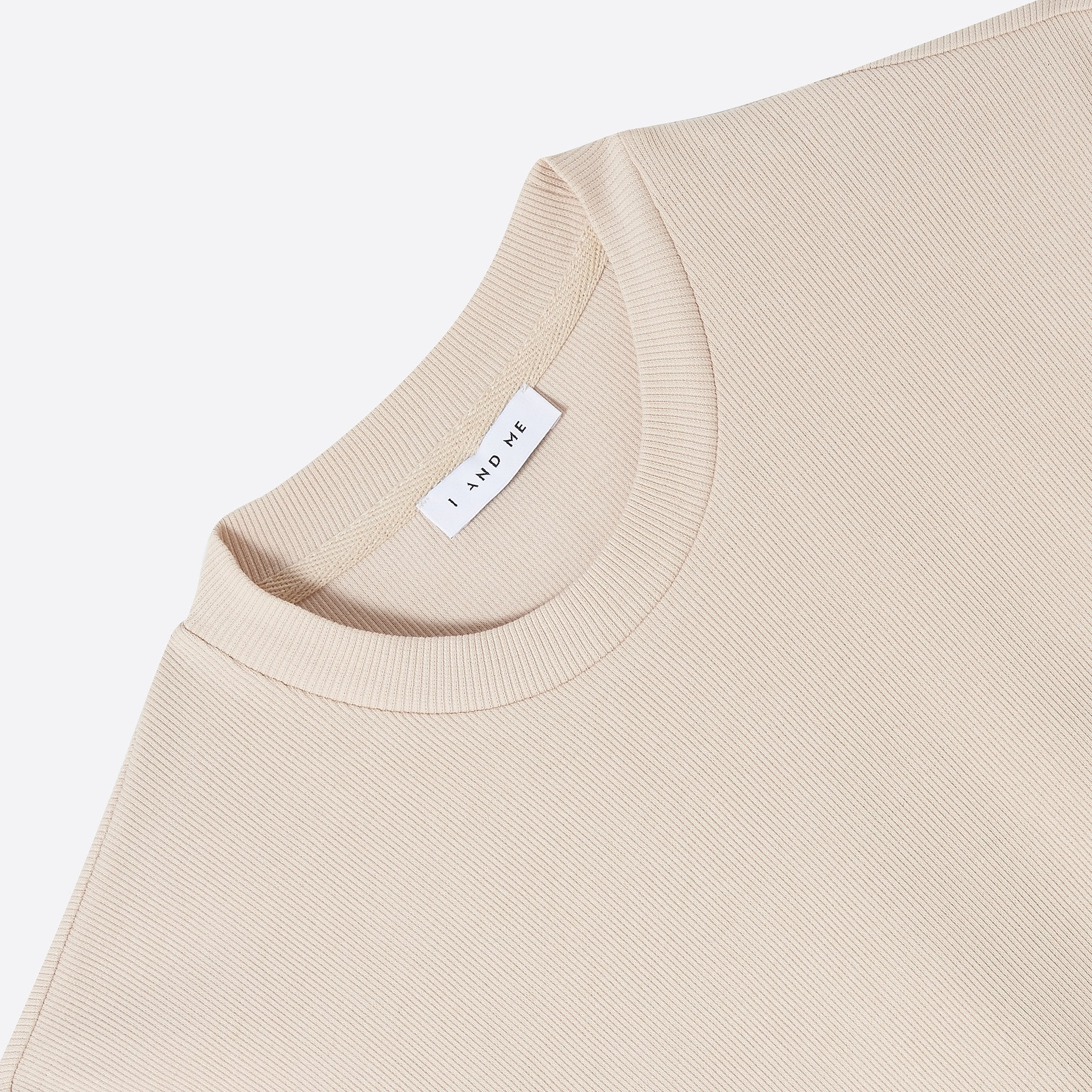I AND ME - Essential Tee - Nude