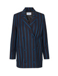 Libertine Libertine - Shift Blazer - Navy Stripe