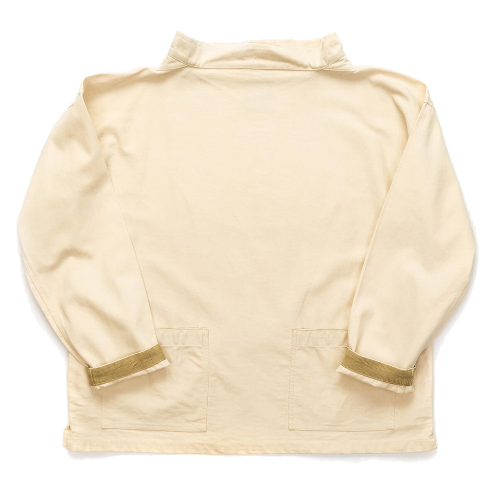 Classic Smock Natural Cotton Twill