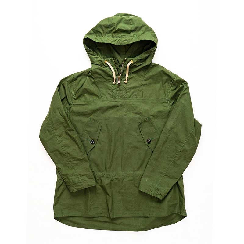 Hooded Smock Forest Green