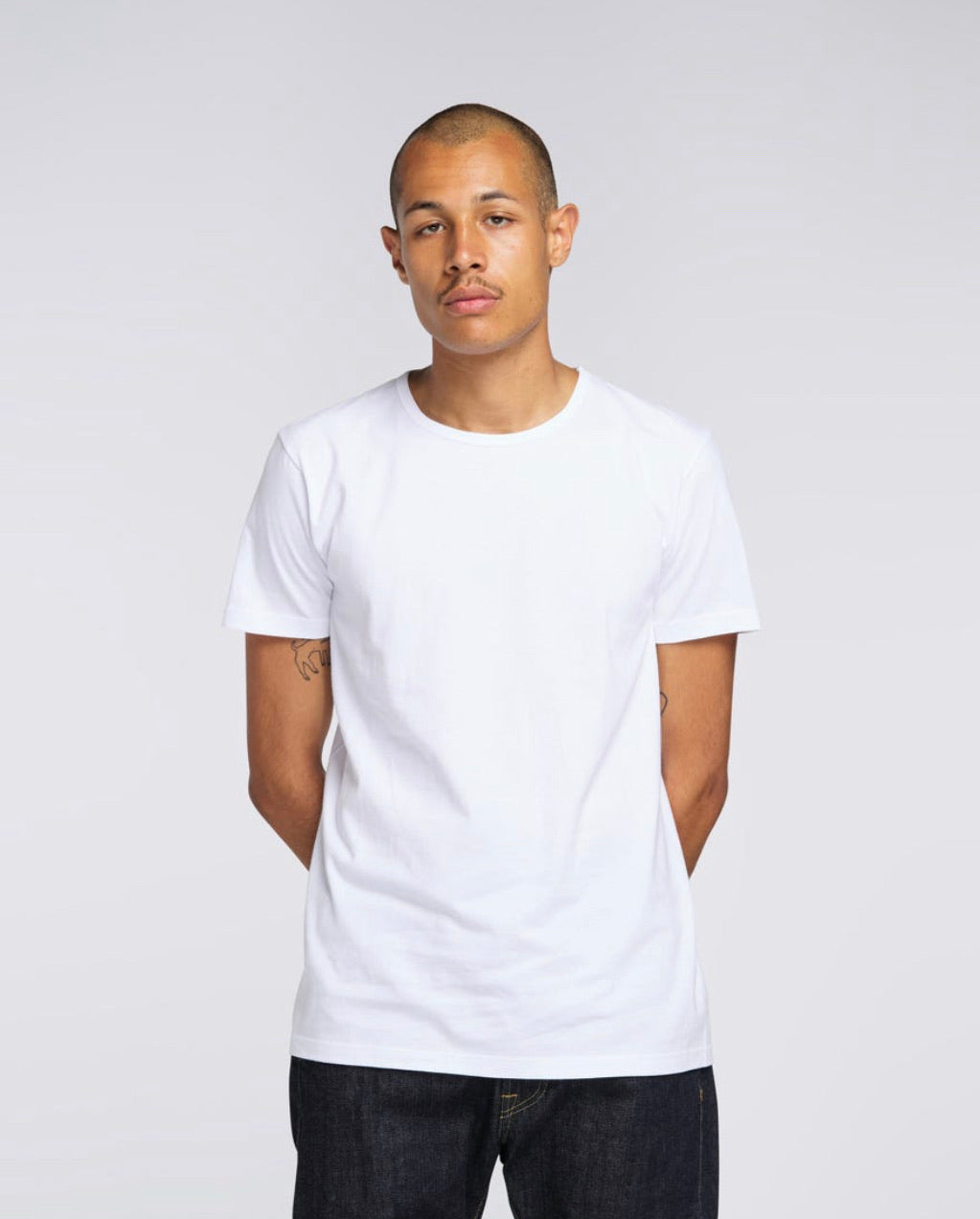 Double Pack Tee White