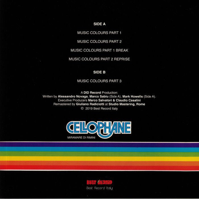 Cellophane - Music Colours