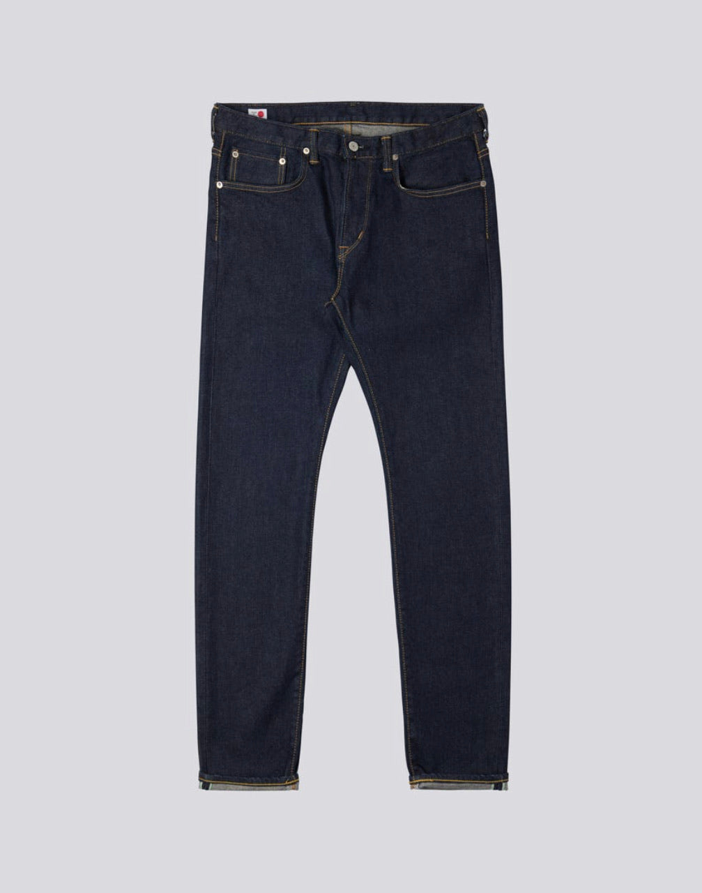 Slim Tapered Kaihara Blue Stretch Denim Rinsed