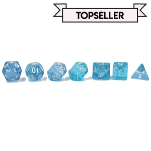 "7pc Set ""Shiny Glitter""  I  D4-D20"