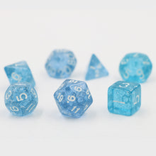 "7 Pc Set  ""Deep Ocean""  I  D4-D20"