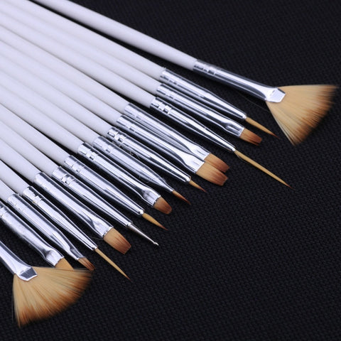 15pcs Paint Brush Set
