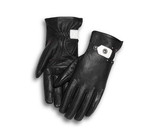 98379-17VW WOMEN'S COMPASS LEATHER GLOVES - 98379-17VW