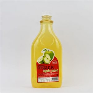 Edwards certified organic apple juice 2ltrs
