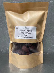 Organic Medjool Dates USA grown 1KG