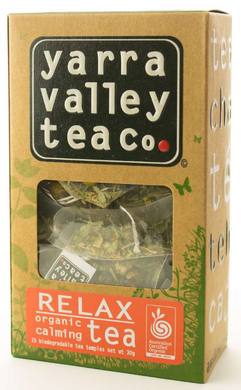 Yarra Valley Tea Co Organic Relax