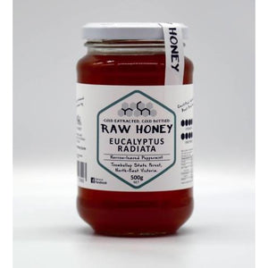 Raw Victorian honey Eucalyptus