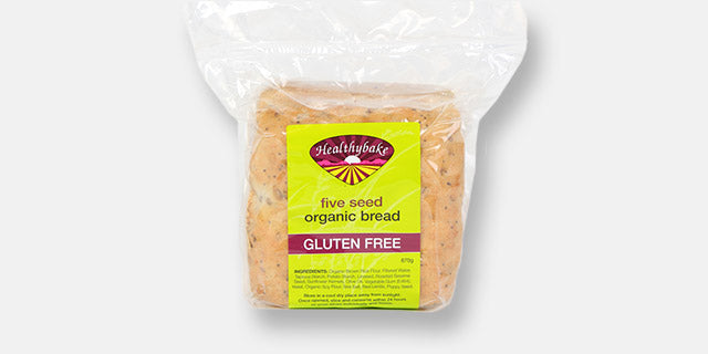 HealthyBake Gluten Free 5 seeded sliced bread