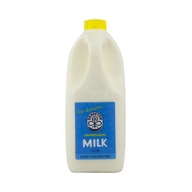 Biodynamic Unhomogenised Milk 2ltrs PICKUP ONLY!