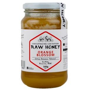 Raw Orange Blossom Honey