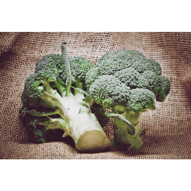 Certified Organic Broccoli per kg