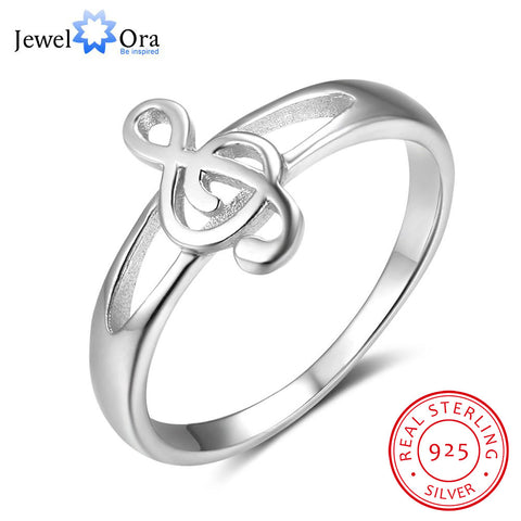 100% Rings For Women Musical Notes Pattern Best  Fashion Jewelry (JewelOra RI102823)