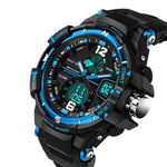 Casual Watch Men G Style Waterproof Sports Digital  Military Analog Watches