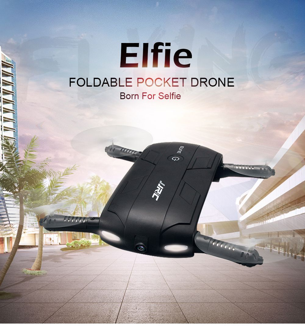 H37 Mini Drone With WiFi Camera Elfie Foldable RC Quadcopter