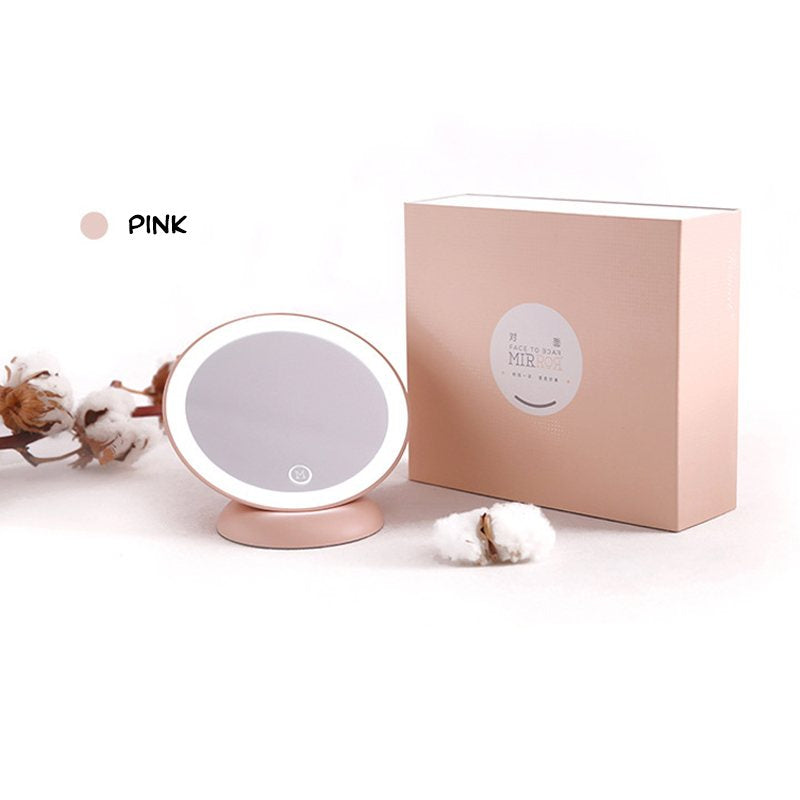 LED Portable Magnetic Makeup Mirror