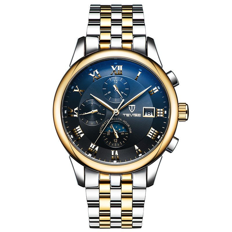 Men's Watches Automatic Mechanical Watch Waterproof Stainless Watches for Men