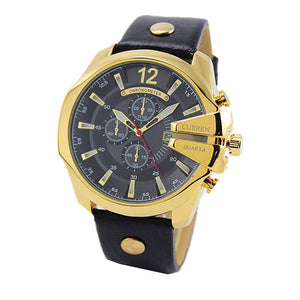 Retro Calendar Quartz Dive Watches For Men