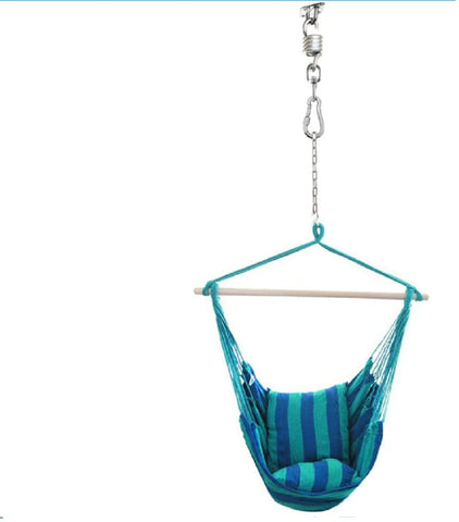 Kglobal Hammock Hanging Kit, Swivel Hook, Stainless Steel 600lb Capacity, Perfect for Hammocks, Chairs, Beds, Baskets, Furniture, Swings Outdoor/Indoor
