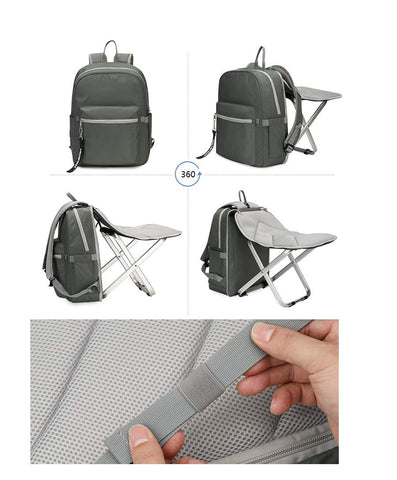 BigTron Ultralight Backpack Stool Combo