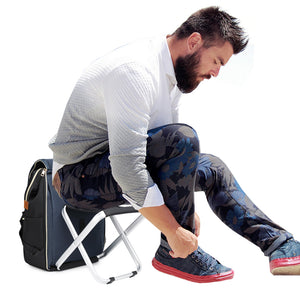 BigTron Fashion Backpack Stool Combo