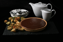 Assunta's Chocolate Salted Caramel Tart Recipe