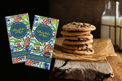 sea salt dark chocolate cookie recipe from Chocolate and Love