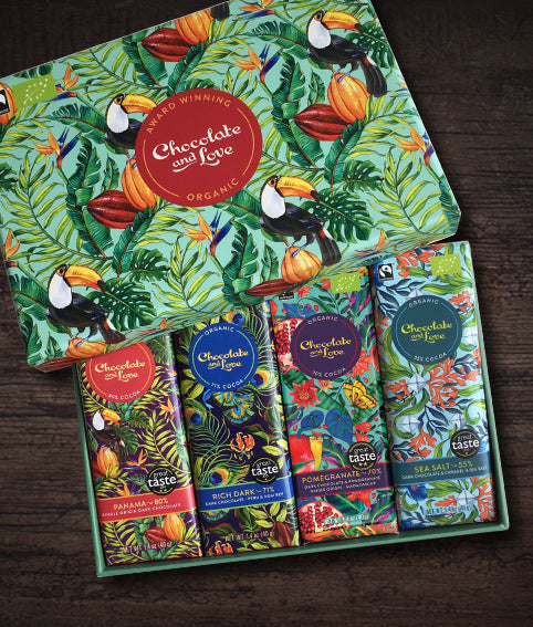PANAMA CHOCOLATE GIFT BOX | Chocolate and Love
