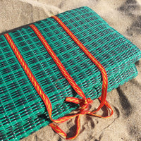 Beach Mat Dark Green Parrot