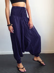 Harem Pants Midnight Blue Rayon