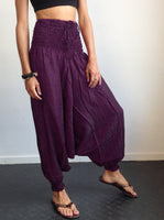 Harem Pants Purple