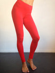 Bubblegum Red Leggings
