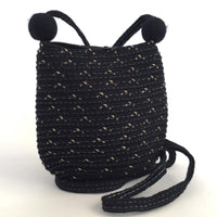 Black Cross Body Pouch Bag