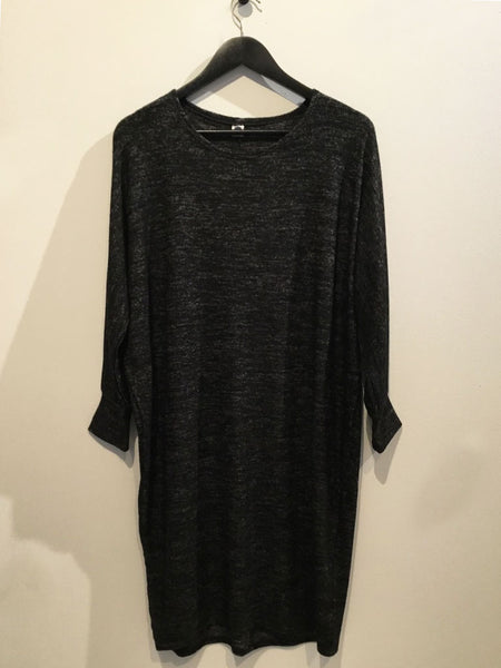 Soft Stretchy Dress Black