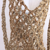 Hand Woven Hyacinth Bottle Holder Bag