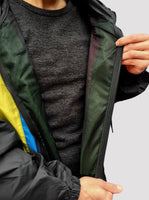 Colour Bar Windbreaker Jacket