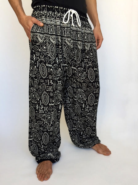 Drawstring Hippie pants with Pocket