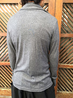 Turtle Neck Top Grey