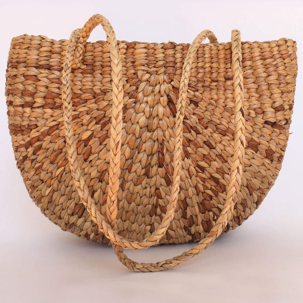 Handmade Water Hyacinth Shoulder Bag