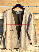 Knitted Jacket Grey