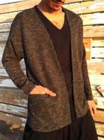 Mottled Knitted Jacket