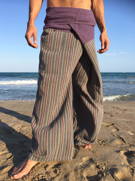 Iris Raw Cotton Thai Fisherman Pants