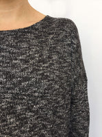 Mottled Knitted Top