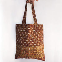 Tote Bag with Traditional Thai Pattern